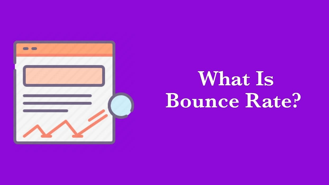 An Image showing what is bounce rate