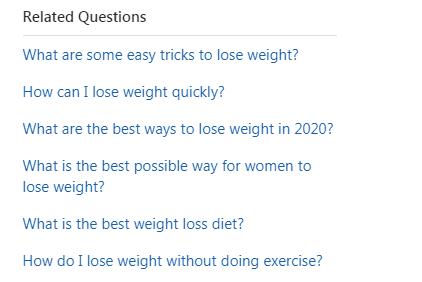 Related topics on Qoura