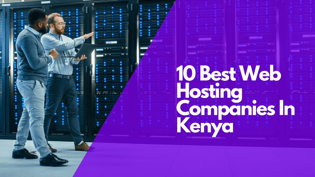 Which is the web hosting provider in Kenya