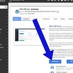Starting to install WordPress
