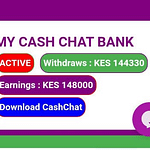 Income made from Cash Chat APP