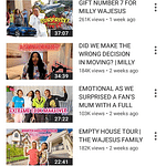 wajesus family youtube channel subscribers