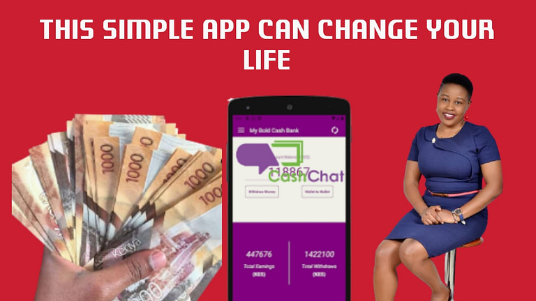 How To Make Money With Cash Chat APP: Earn Ksh 8000 Weekly