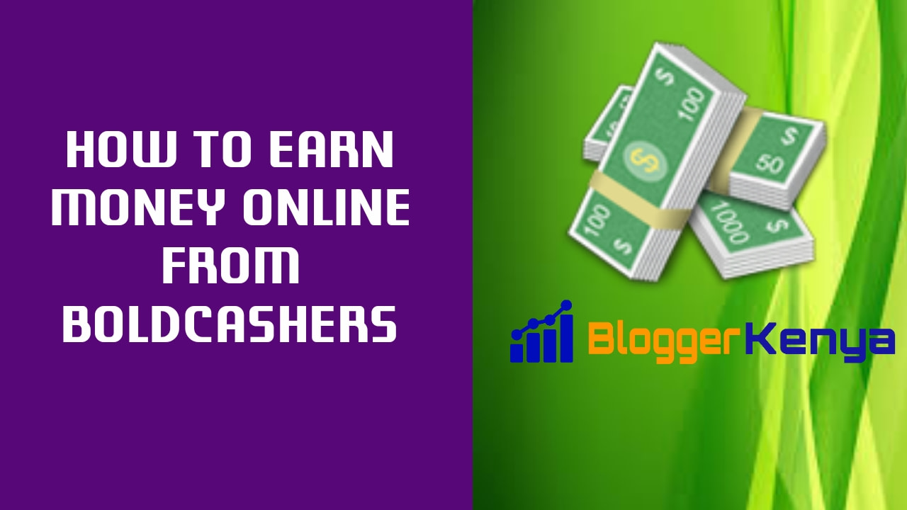 Makes money from BoldCashers