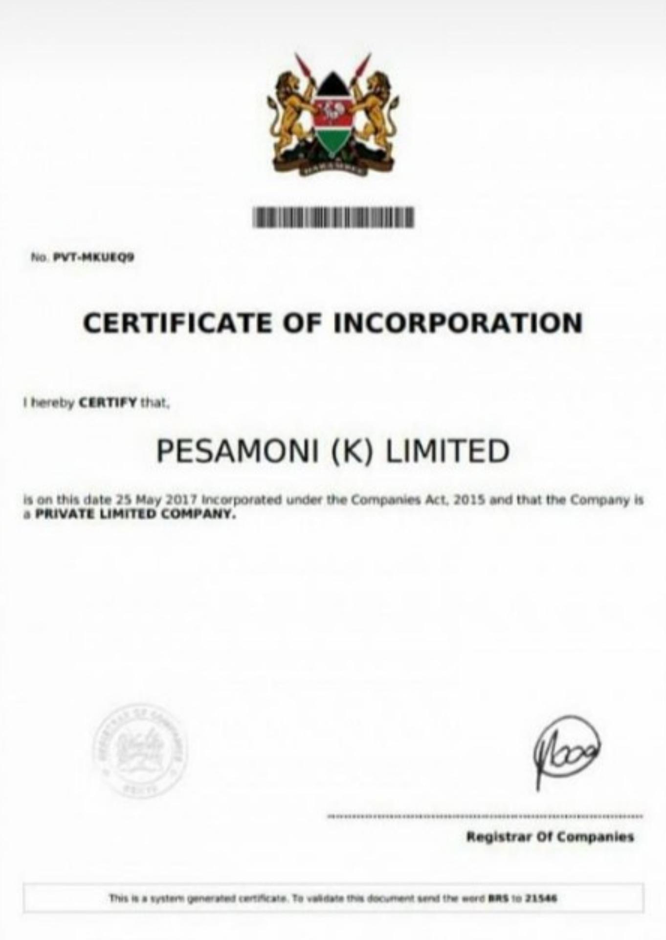 BoldCashers legal documents